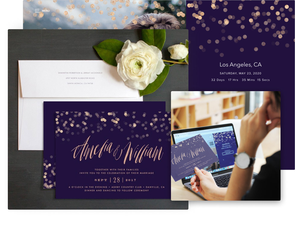 Online Save The Date Templates With