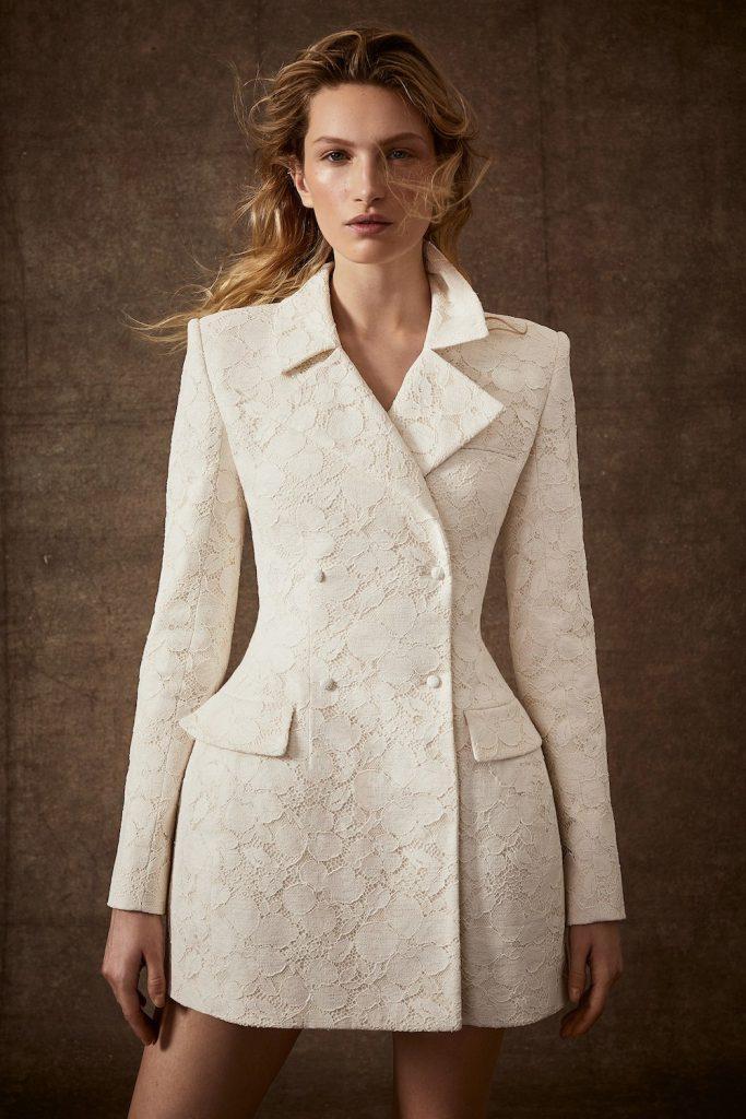 suit dress spring 2020 bridal fashion