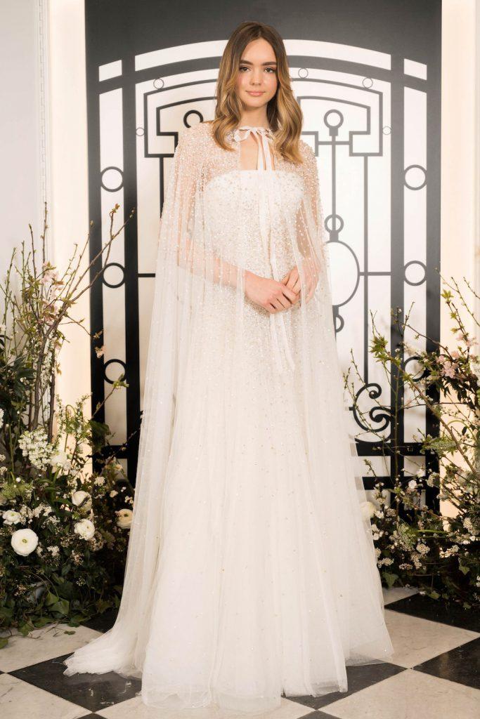 wedding cape spring 2020 bridal fashion