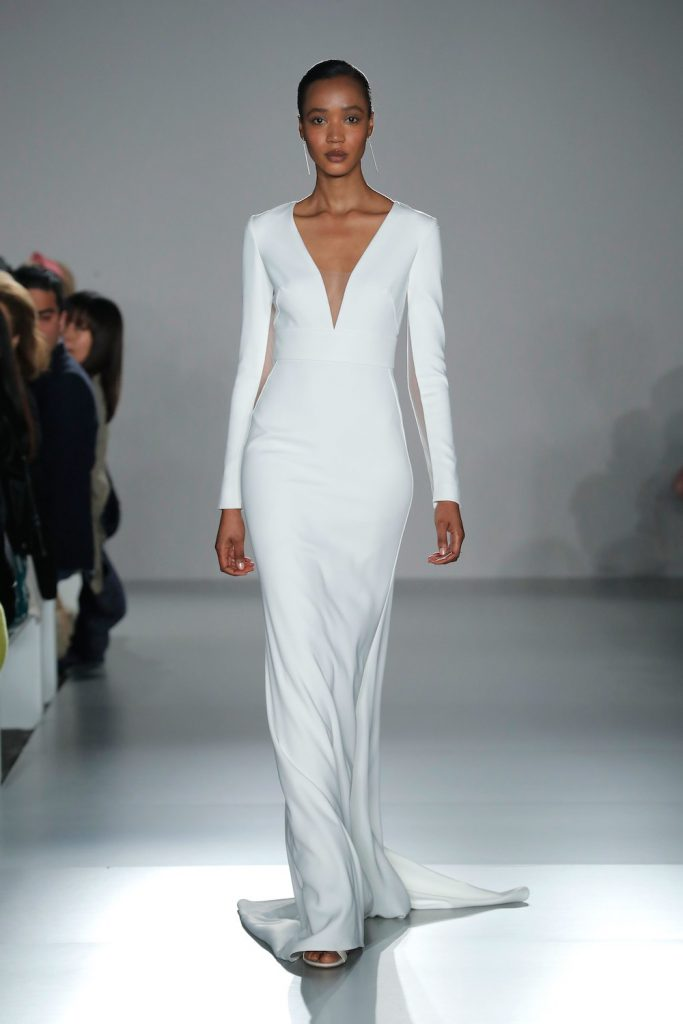 disco chic spring 2020 bridal fashion