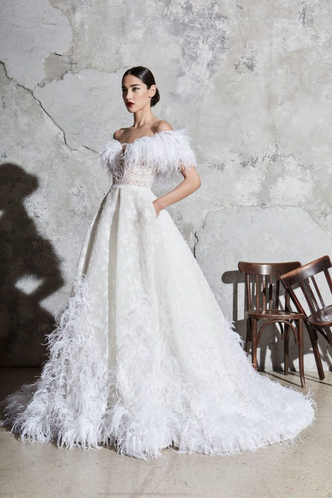 feathers spring 2020 bridal fashion