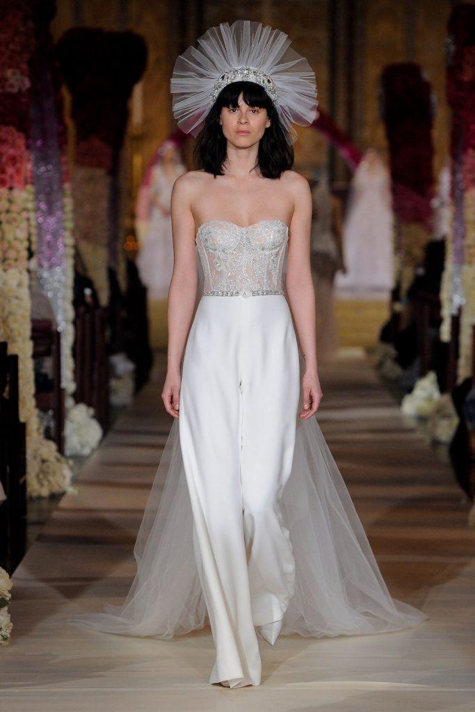 bridal jumpsuits spring 2020 fashion