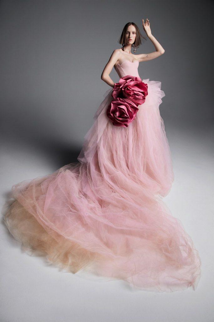 pastel bridal fashion trend 2019