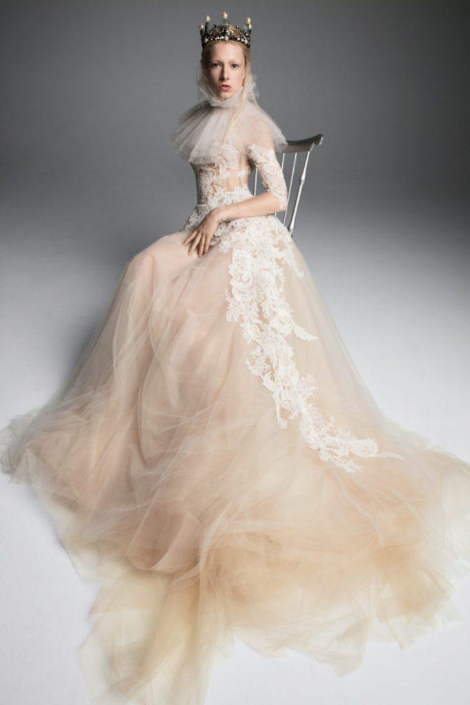 tiaras bridal fashion trend 2019