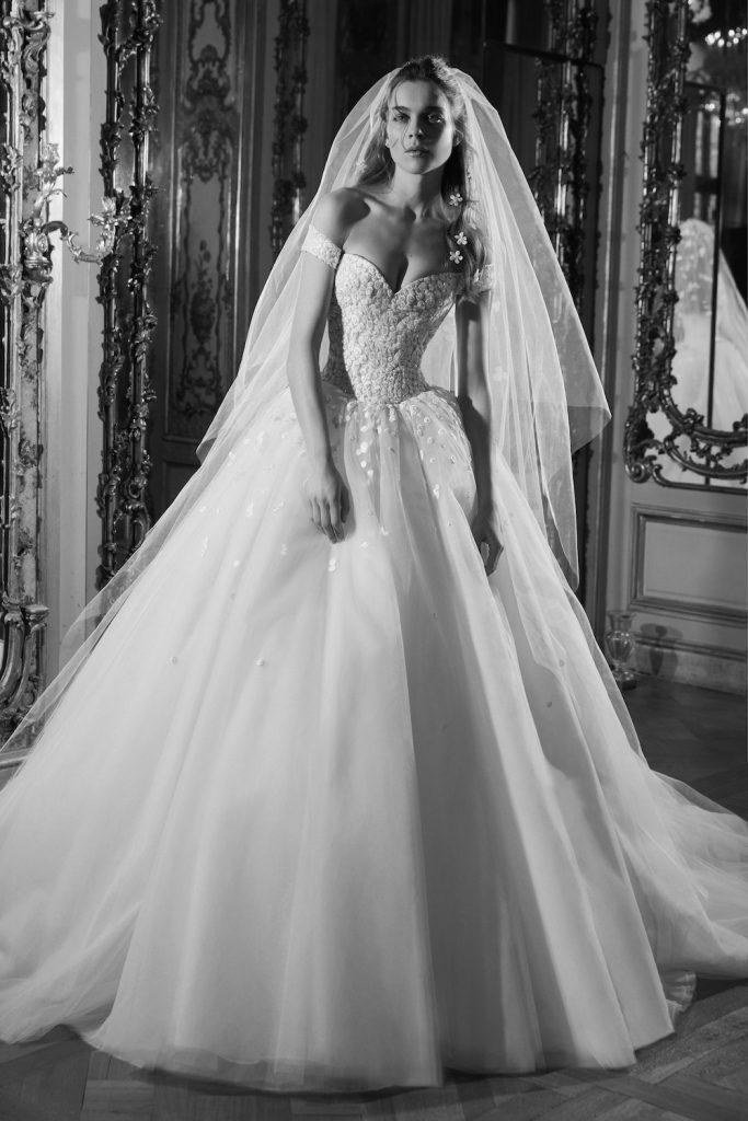 voluminous dress bridal fashion trend 2019