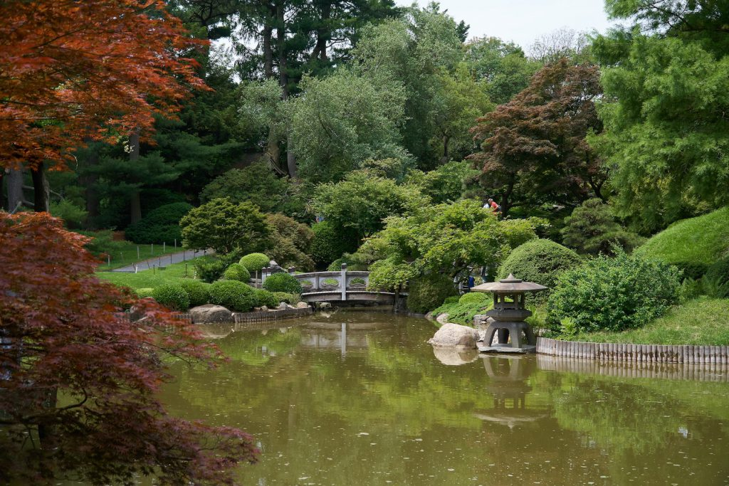 brooklyn botanic garden engagement photo location nyc