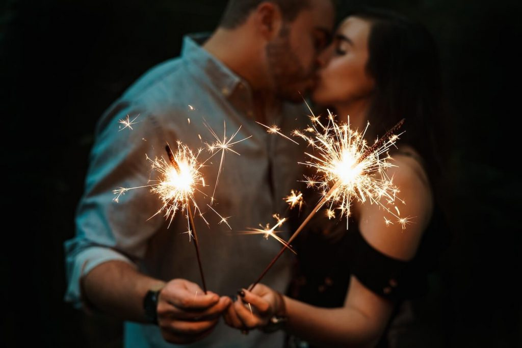 new year's eve christmas proposal idea