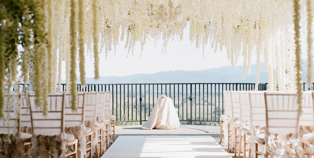 auberge du soleil napa wedding venue