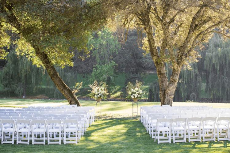 meadowood napa valley wedding venue
