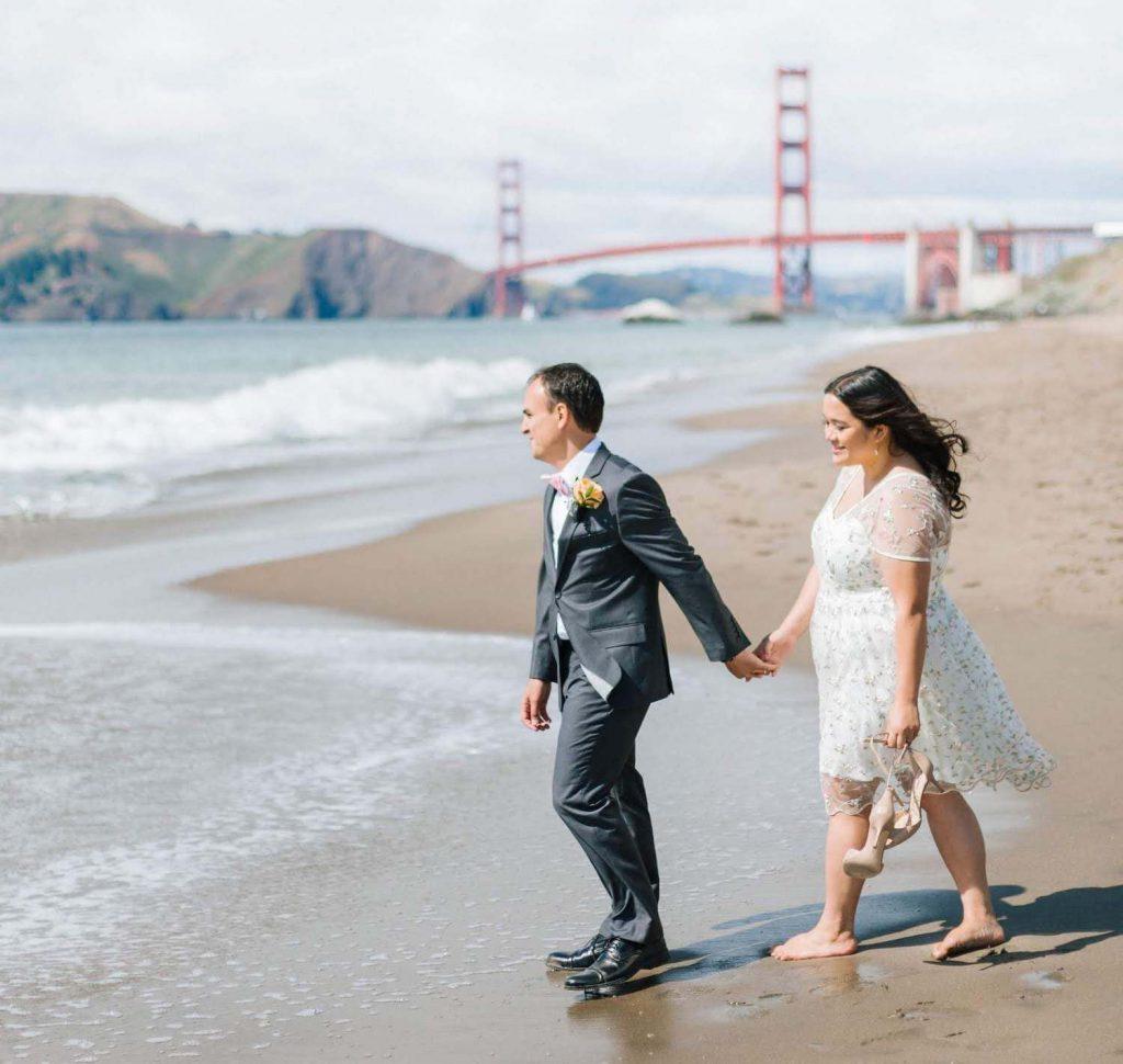 san francisco california destination wedding in the us