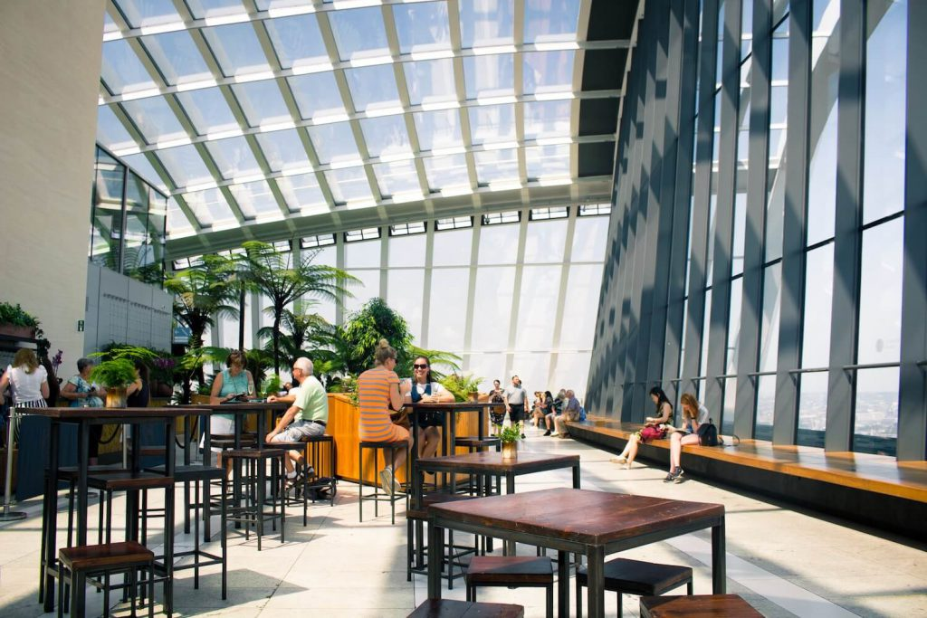 sky garden place to propose in london