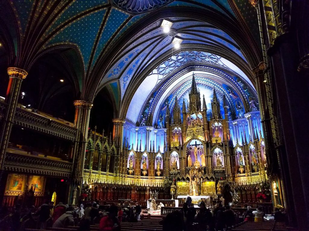 notre-dame basilica best place to propose in montreal