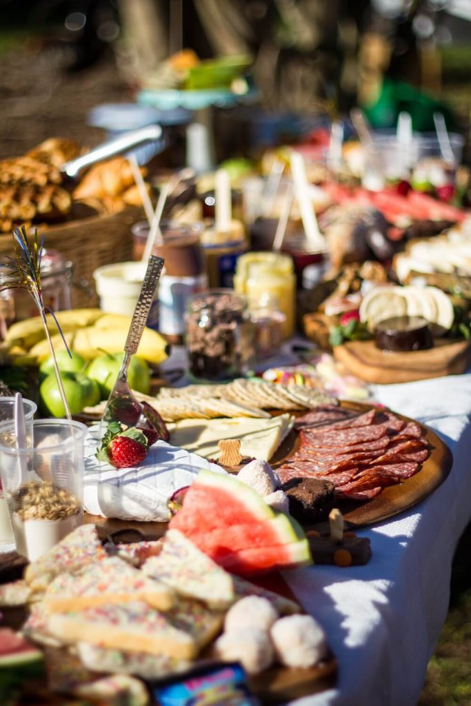 grazing boards wedding catering trend 2020