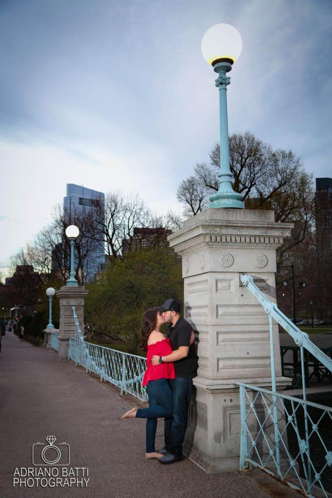 boston public garden engagement photos boston