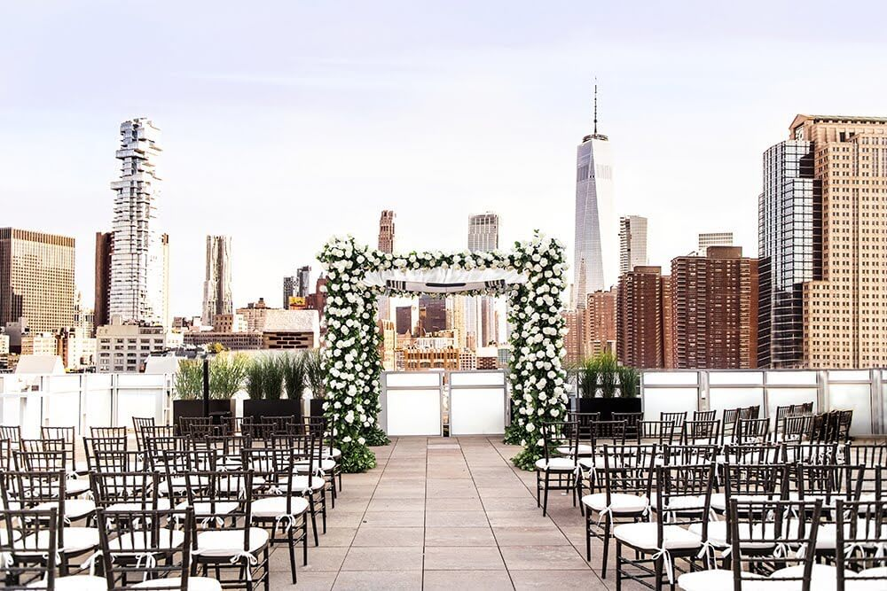tribeca rooftop unique wedding venue nyc