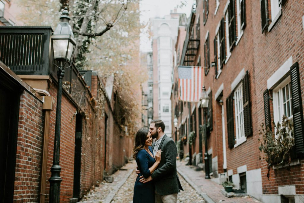 beacon hill engagement photos boston