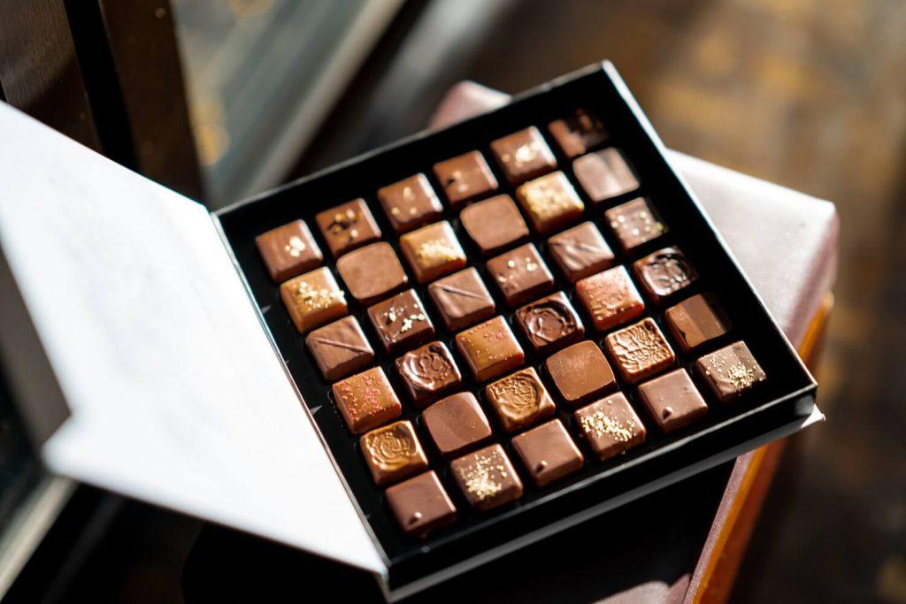 box of chocolates valentine's day proposal idea