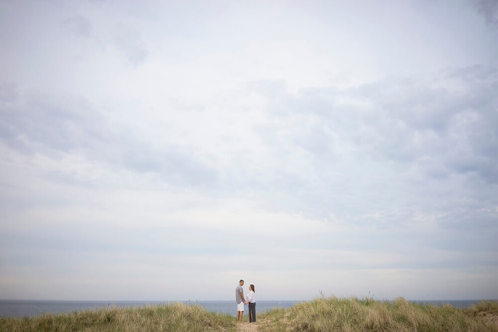 salisbury beach engagement photos boston