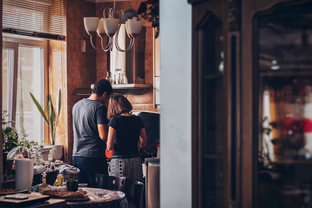 home cooked meal valentine's day proposal idea