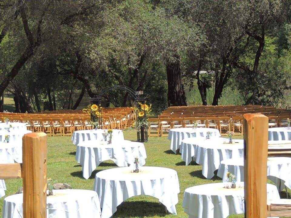 american river resort outdoor wedding venue sacramento