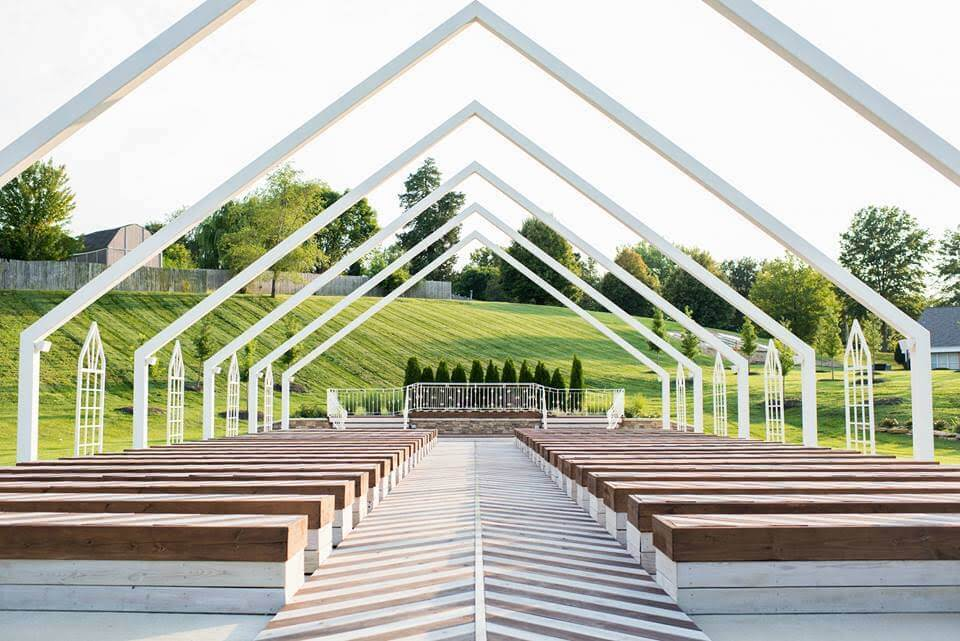 the pavilion event space outdoor wedding venue kansas city