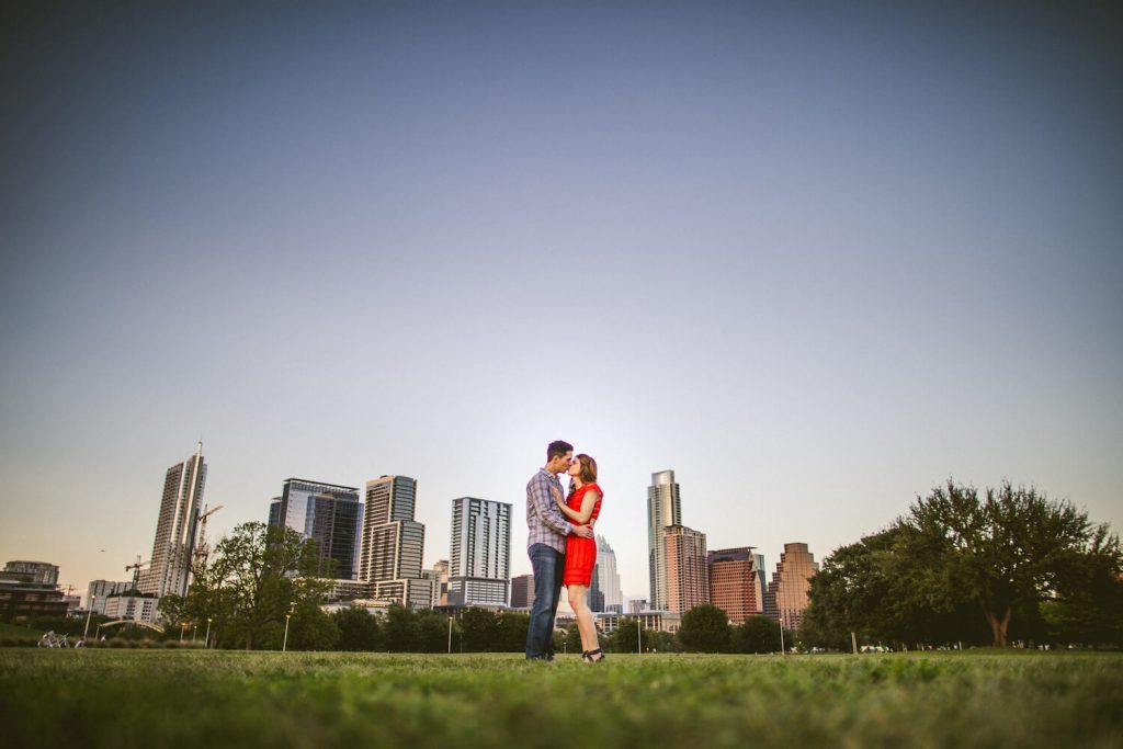 auditorium shores engagement photo austin