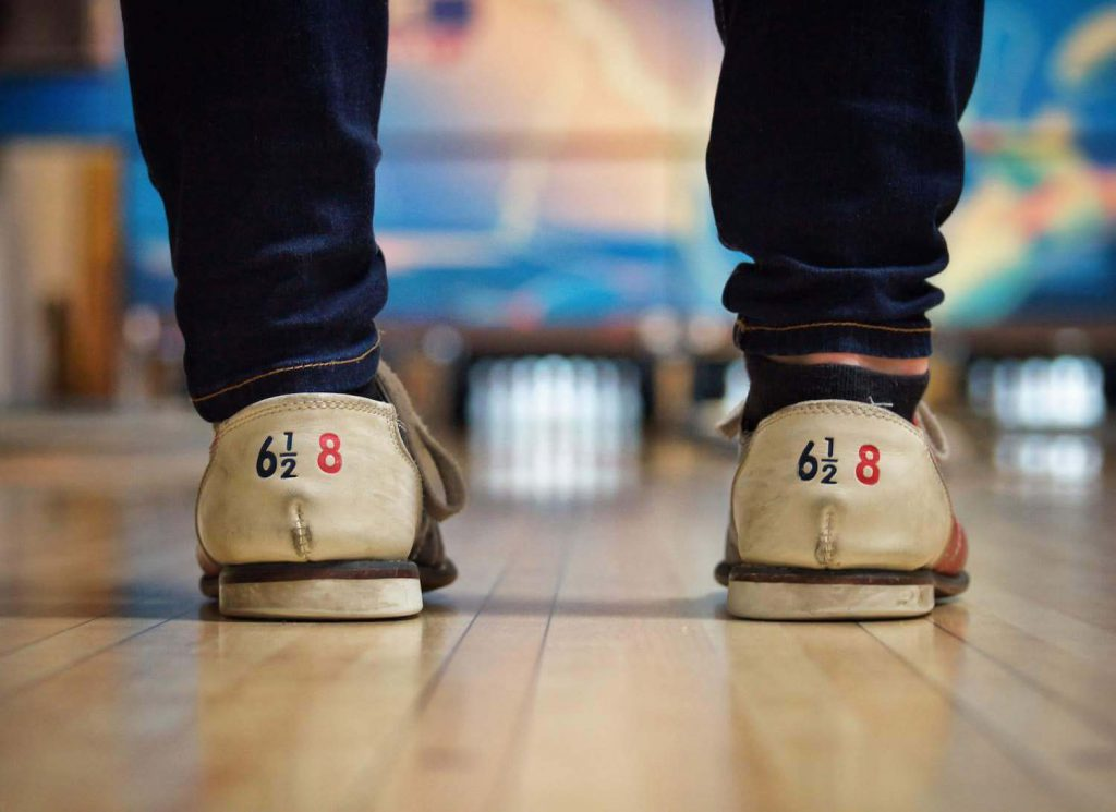 bowling alley showdown rehearsal dinner idea