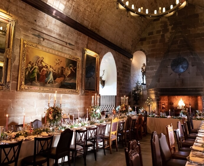 borthwick castle small wedding venue edinburgh