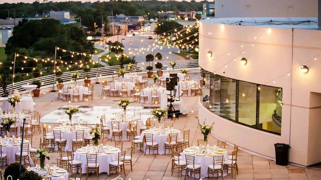 orlando science center outdoor wedding venue orlando