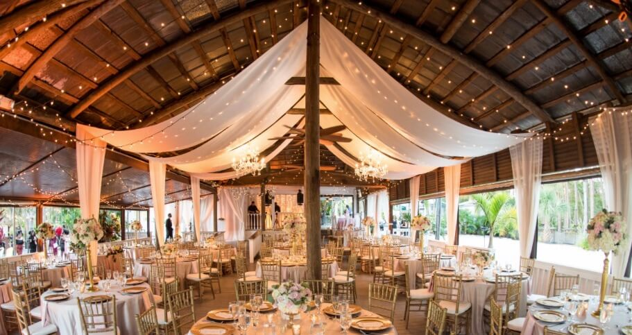 paradise cove outdoor wedding venue orlando