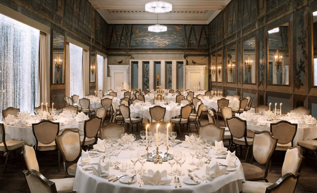 the caledonian, a waldorf astoria hotel small wedding venue edinburgh