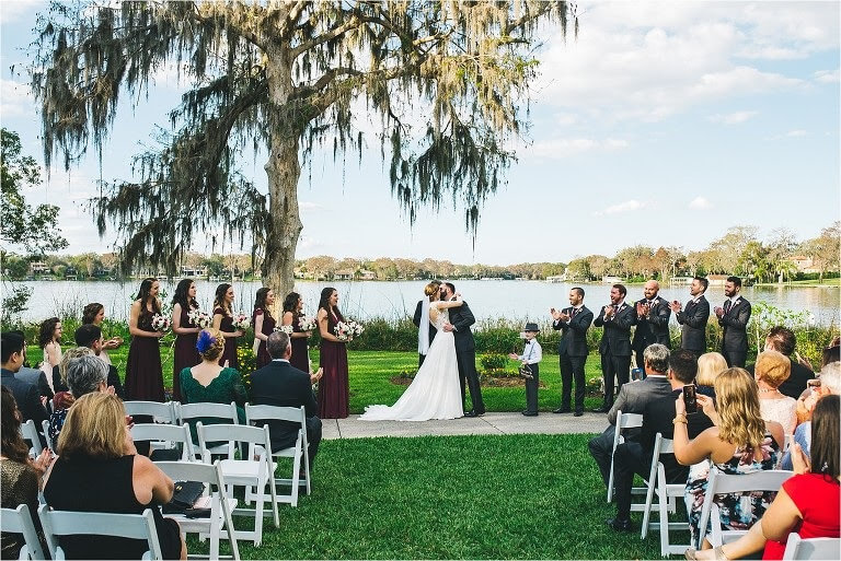 the capen house at the polasek outdoor wedding venue orlando