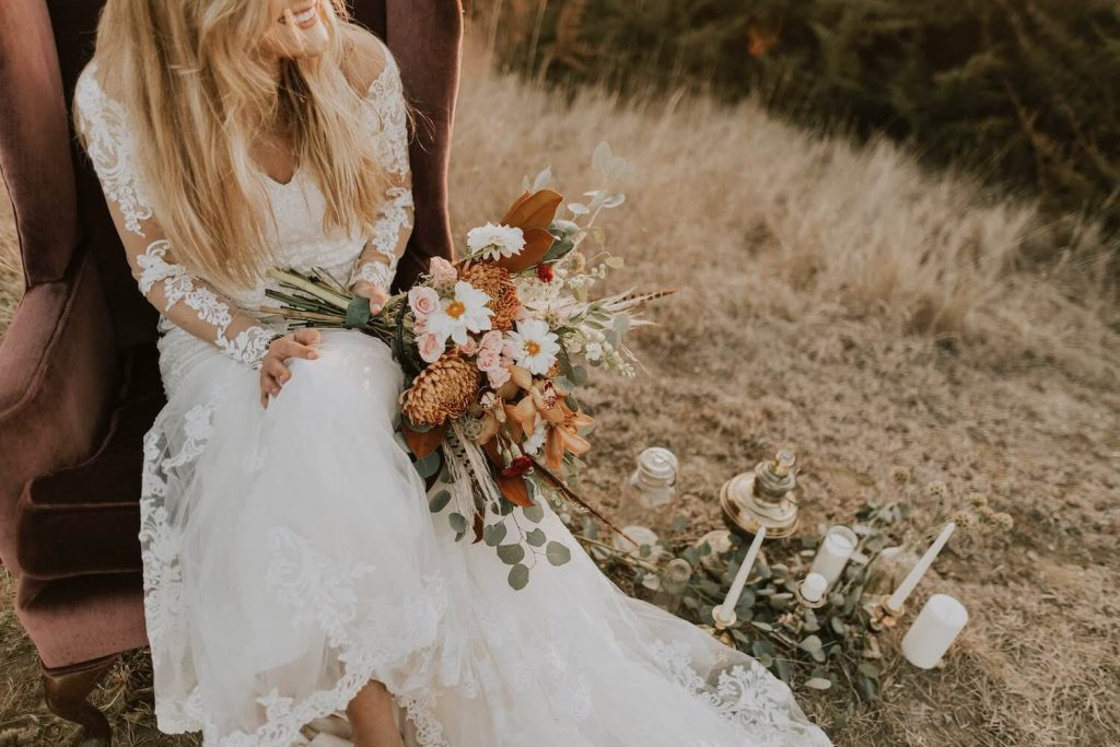 select a sustainable wedding dress green eco-friendly wedding