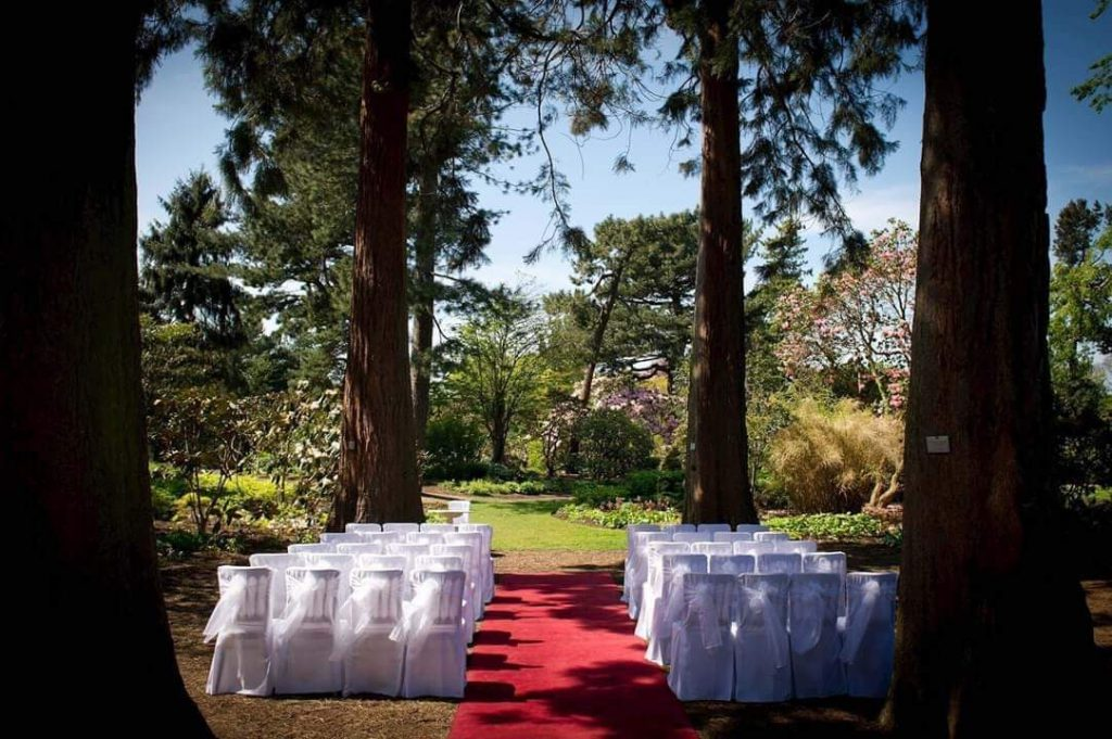royal botanic garden edinburgh small wedding venue edinburgh
