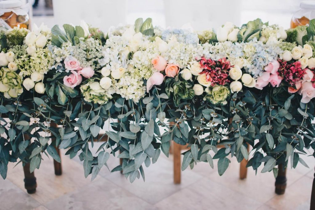 find a like-minded florist green eco-friendly wedding