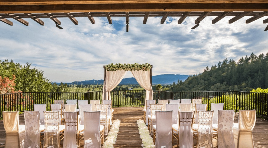 auberge du soleil affordable wedding venue bay area