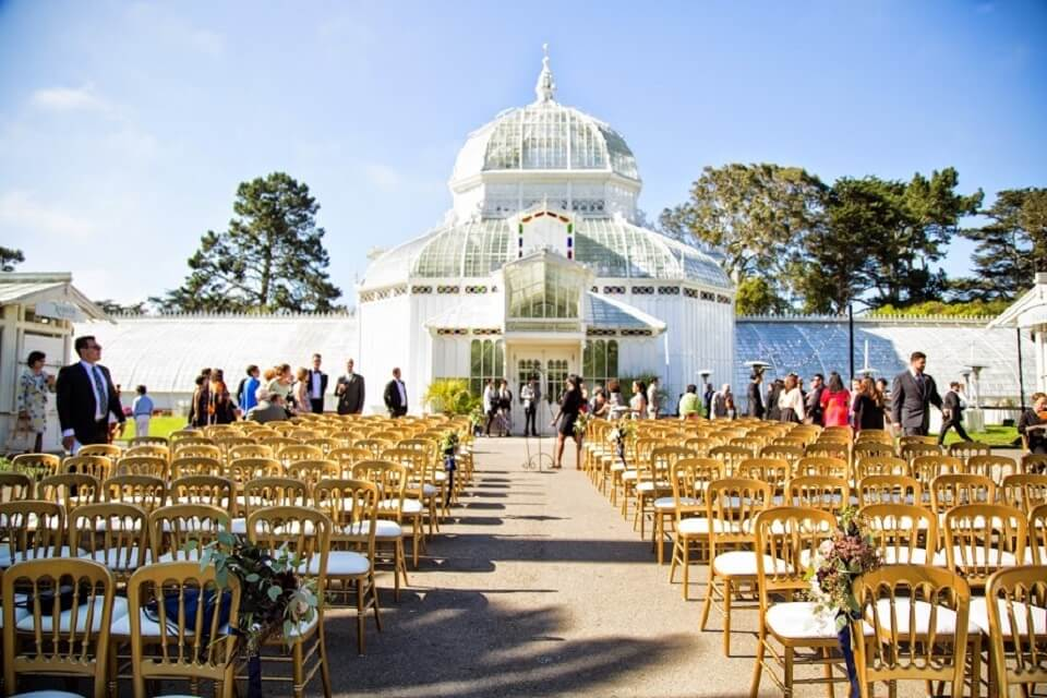 conservatory of flowers small wedding venue bay area