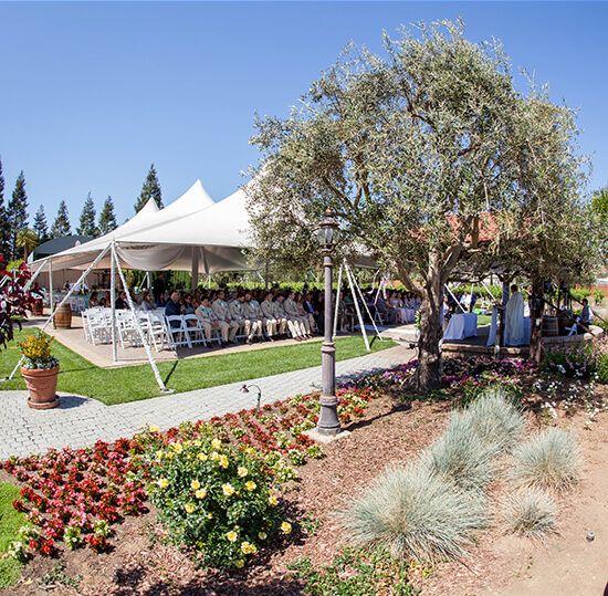 guglielmo winery affordable wedding venue bay area