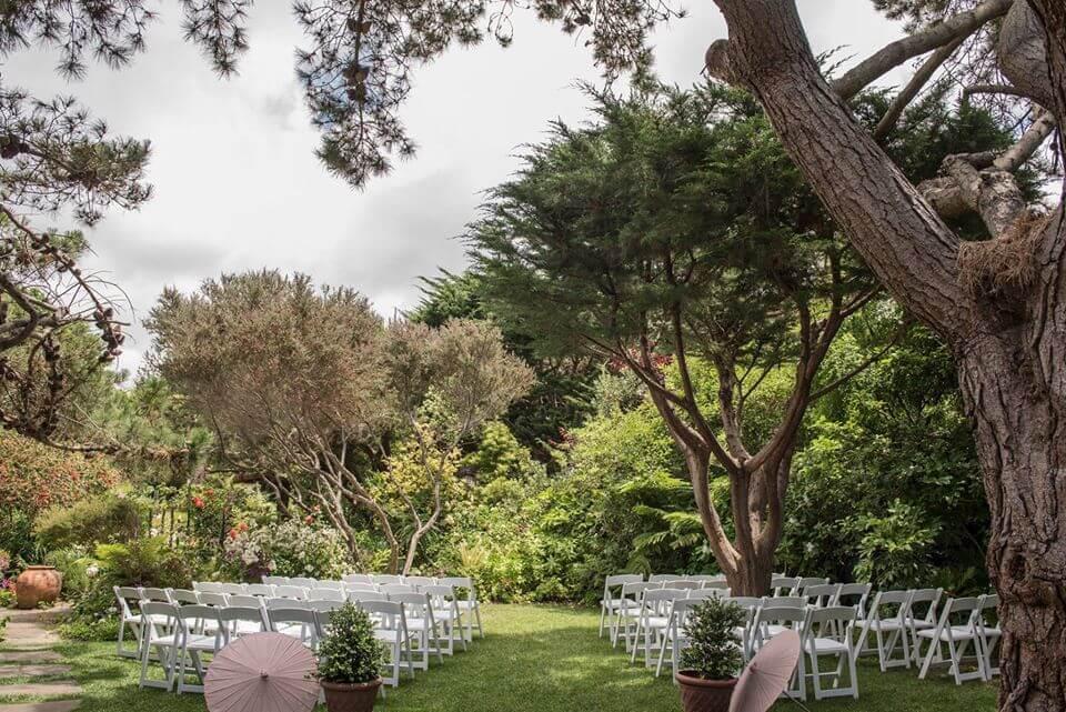 the hastings house garden small wedding venue bay area