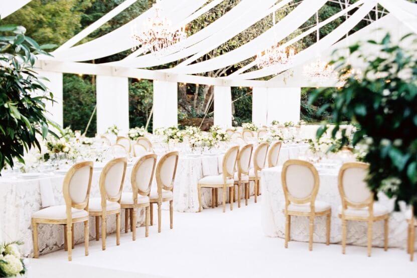 meadowood napa valley small wedding venue bay area