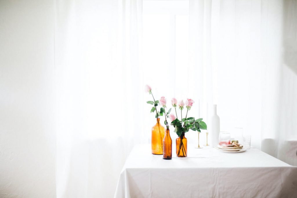 get creative with your centerpieces is brunch wedding right for you