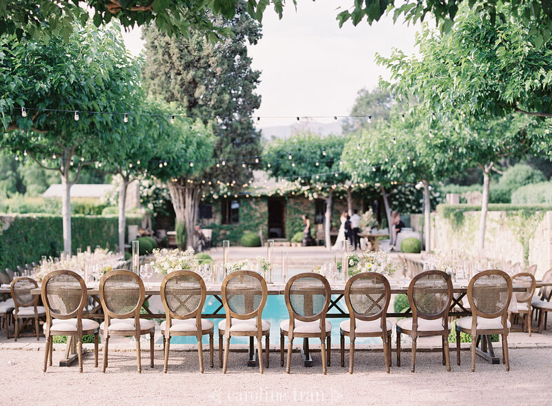 consider the space and size of the home how to transform house for at-home wedding