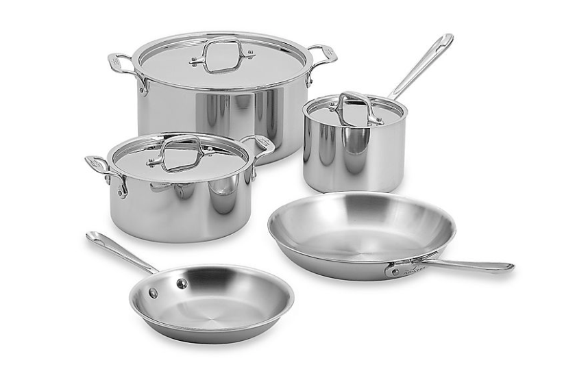 the best stainless steel cookware set by All-Clad
