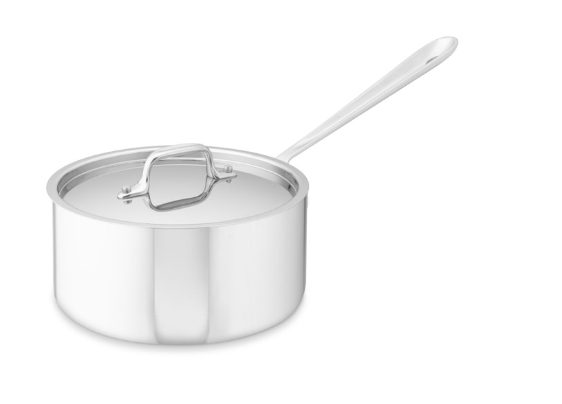 the best stainless steel saucepan by All-Clad