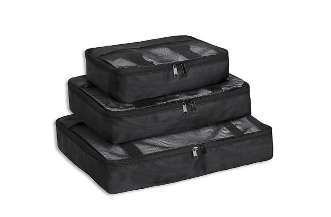 Brookstone packing cubes for travel