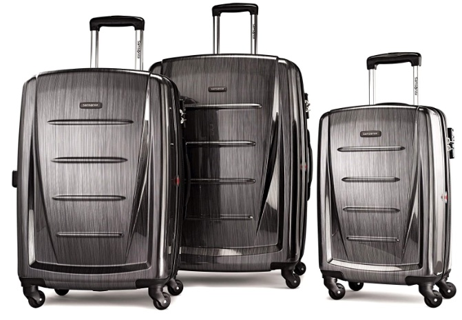 the best hard shell luggage set by Samsonite