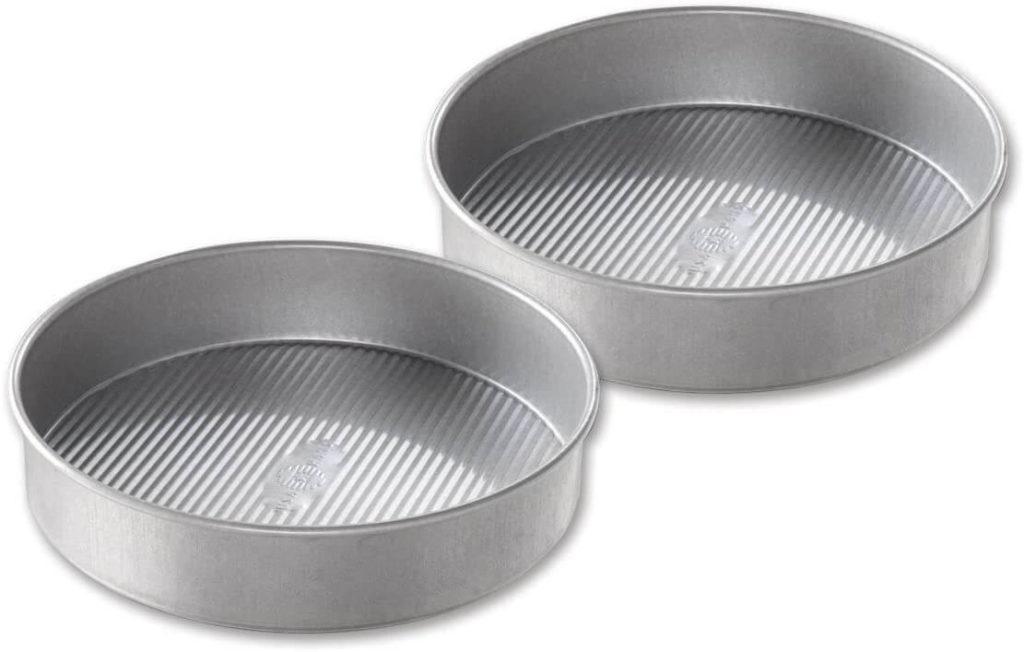 USA Pan 9-Inch Bakeware Round Cake Pan, Set of 2