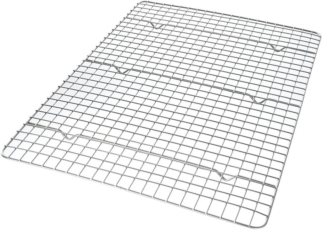 USA Pan Half Sheet Bakeable Nonstick Cooling Rack
