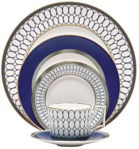 wedgwood renaissance gold 5-piece place setting best dinnerware for wedding registry