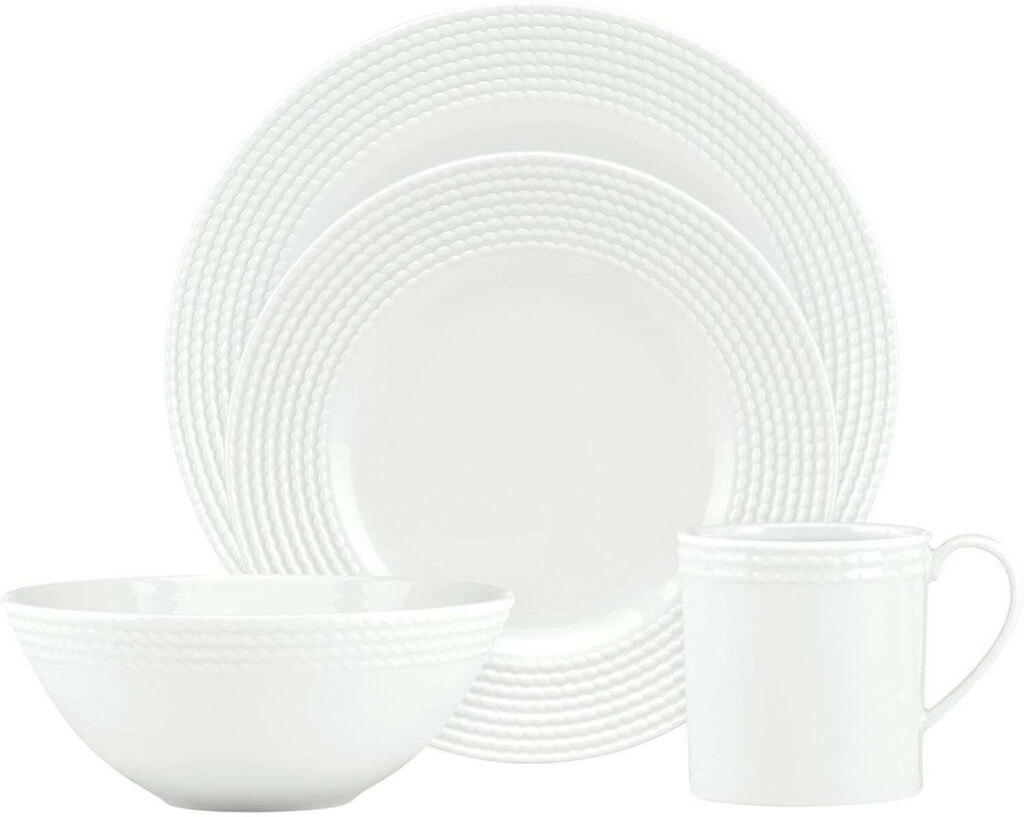 kate spade wickford 4-piece place setting best dinnerware for wedding registry